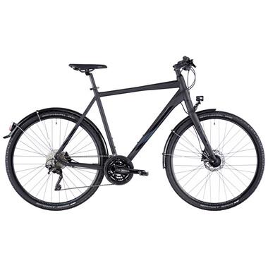 Bicicletta Ibrida SERIOUS TENAYA HYBRID STREET DIAMANT Nero 2020